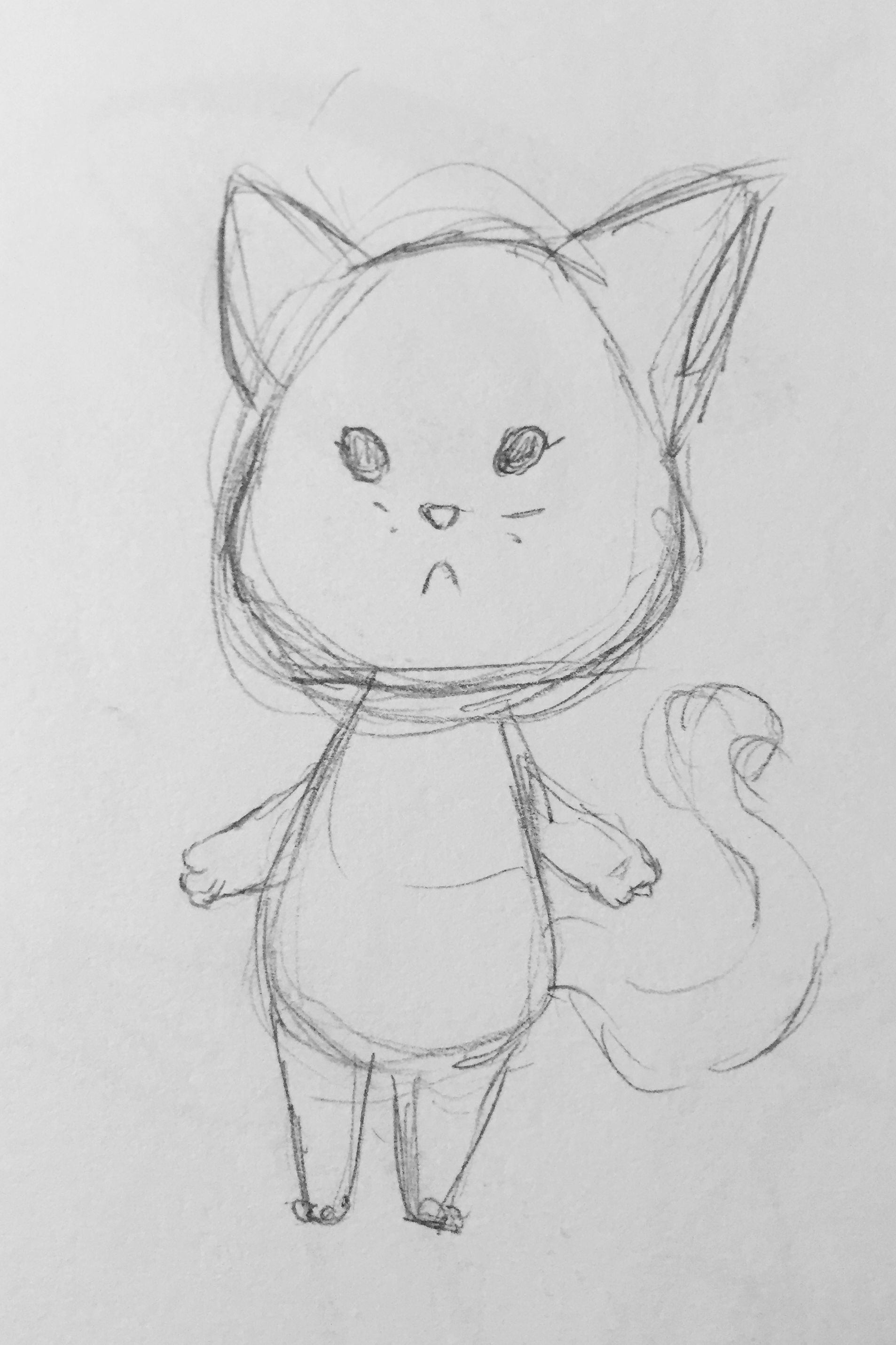 Basic cat sketch
