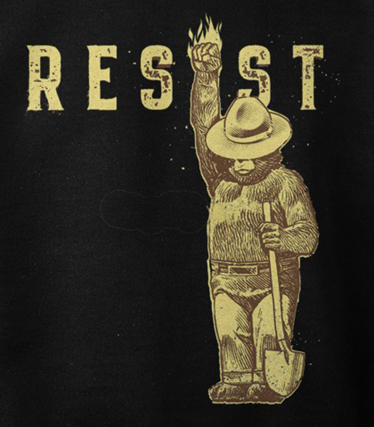 Smokey says resist