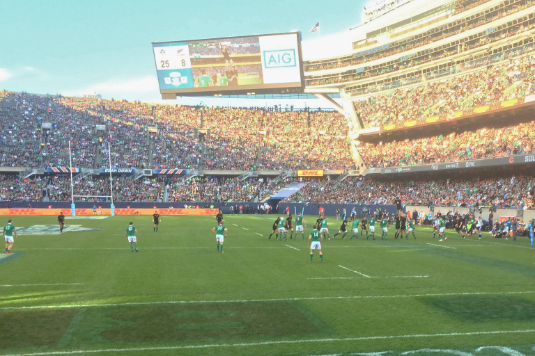 Rugby in Chicago's Soldier Field