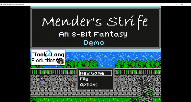 8-bit indie fantasy land: Mender's Strife review