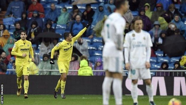 Villarreal win in the Santiago Bernabéu