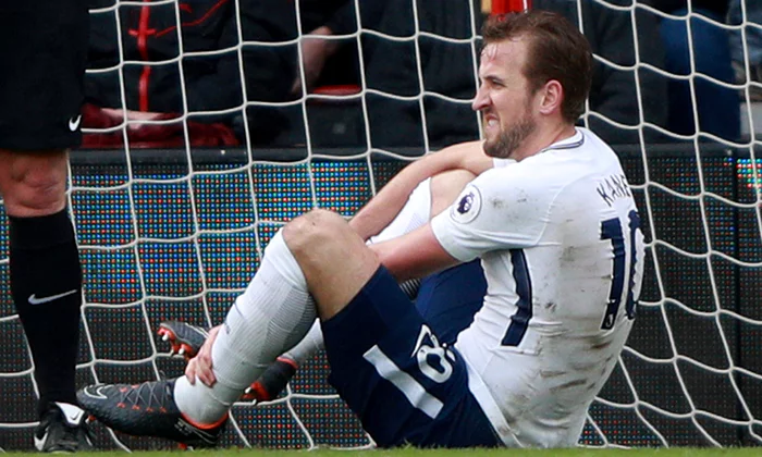 Harry Kane hurt again